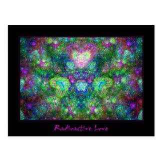 Amor radiactivo postales