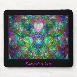 Amor radiactivo tapetes de ratones