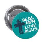 Amor real Jesús de los hombres Pin