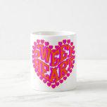 Amor/regalo del el día de San Valentín del cumplea Taza De Café