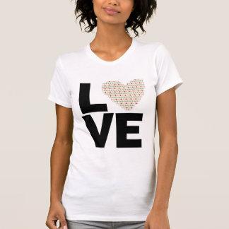 Amor retro camiseta