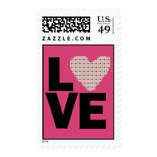 Amor retro sellos