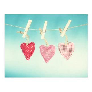Amor retro postales