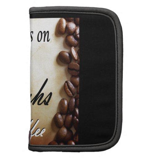 amor, risas, café fuerte organizador