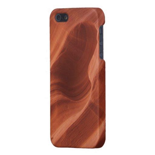 Amor rojo de la roca iPhone 5 carcasas