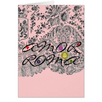 Amor Roma Card