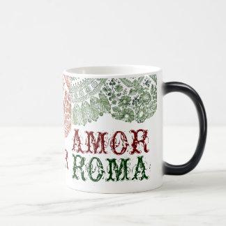Amor Roma With Green Lace Magic Mug