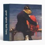 Amor romántico del vintage, romance en la playa