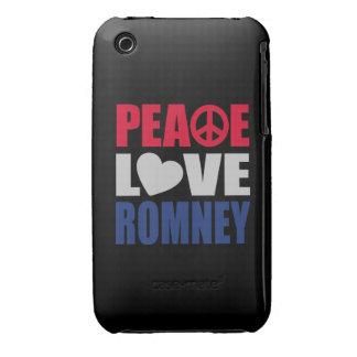 Amor Romney de la paz Case-Mate iPhone 3 Funda