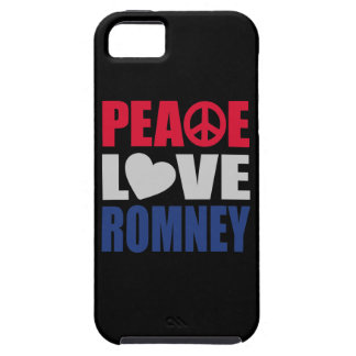 Amor Romney de la paz Funda Para iPhone 5 Tough