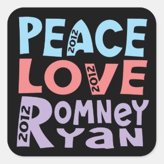 amor Romney Ryan de la paz Colcomanias Cuadradases