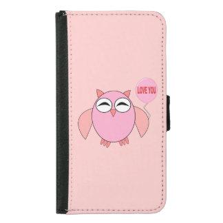 Amor rosado lindo usted caja de la cartera de