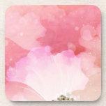 Amor rosado posavasos