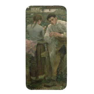 Amor rural, 1882 funda acolchada para iPhone