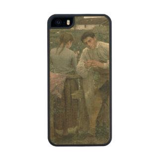 Amor rural, 1882 funda de arce carved® para iPhone 5 slim