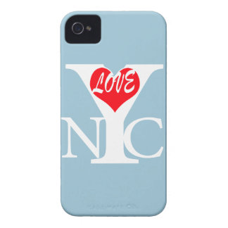 Amor RW de New York City iPhone 4 Case-Mate Cárcasas
