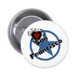 Amor San Francisco Pin