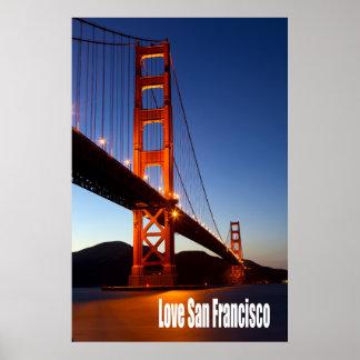 Amor San Francisco Póster