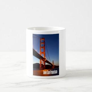 Amor San Francisco Taza Básica Blanca