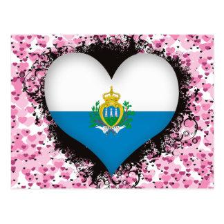 Amor San Marino del vintage I Tarjeta Postal