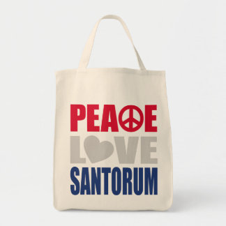 Amor Santorum de la paz Bolsas De Mano