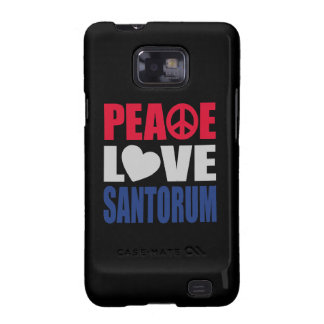 Amor Santorum de la paz Galaxy S2 Carcasas