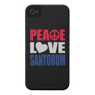Amor Santorum de la paz Case-Mate iPhone 4 Funda
