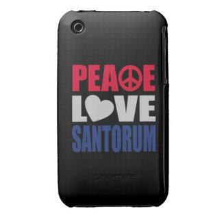 Amor Santorum de la paz iPhone 3 Case-Mate Funda