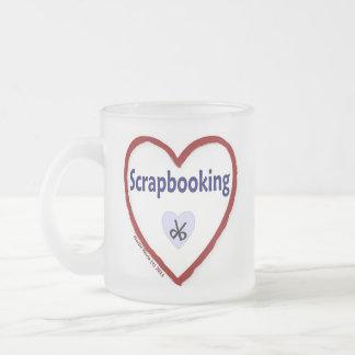 Amor Scrapbooking Taza De Cristal