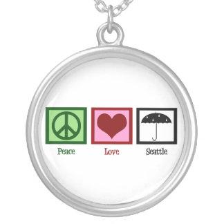 Amor Seattle de la paz Colgante Personalizado