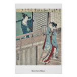 Amor secreto por Shiba, Kokan Ukiyoe Posters