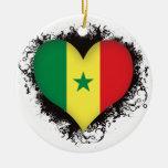 Amor Senegal del vintage I Adorno