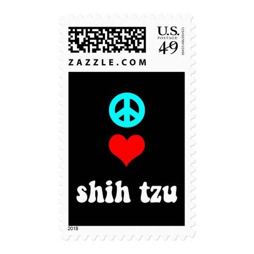 Amor Shih Tzu de la paz