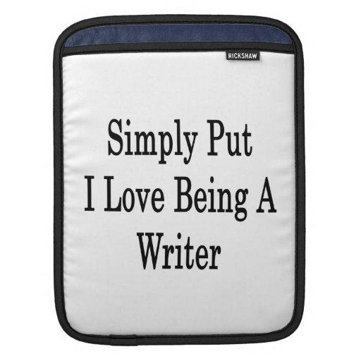 Amor simplemente puesto de I que es un escritor Manga De iPad