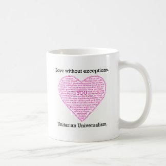 Amor sin excepciones taza de café