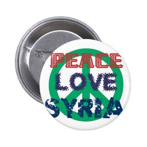 amor Siria de la paz Pin