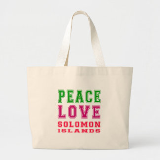 Amor Solomon Island de la paz Bolsa
