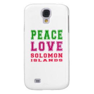 Amor Solomon Island de la paz