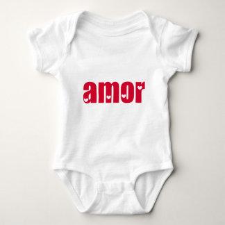 Amor! Spanish Love design! Baby Bodysuit