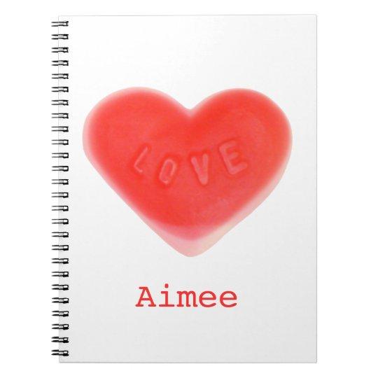 """Amor """"su"""" cuaderno conocido"""