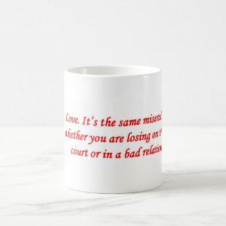 amor-su--mismo-desgraciado-juego-si-usted-sea taza de café