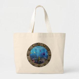 Amor subacuático - bolsa tela grande