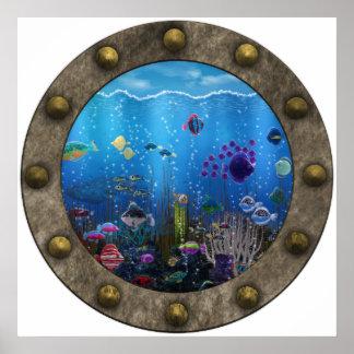 Amor subacuático - póster