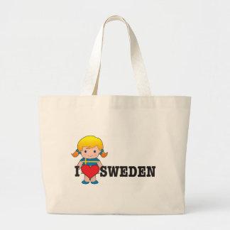 Amor Suecia Bolsa Tela Grande