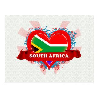 Amor Suráfrica del vintage I Postal