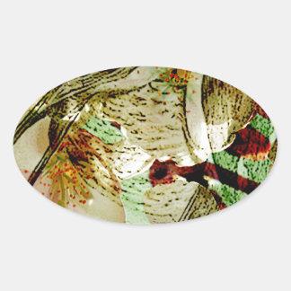AMOR SWALLOWS2.jpg de la PRIMAVERA Pegatina Ovalada