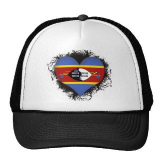 Amor Swazilandia del vintage I Gorro