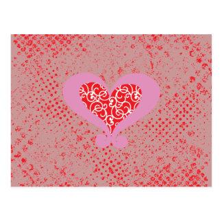 Amor t tarjetas postales