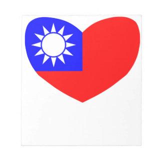 Amor Taiwán Bloc De Notas