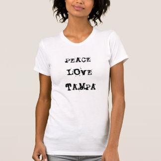 Amor Tampa, FL de la paz Camiseta